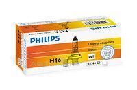 Лампа автомобильная PHILIPS H16 12v 19w