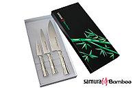 Набор из 3 ножей в подарочной коробке Samura BAMBOO