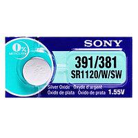 Батарея Sony 391 1.55v SR1120W