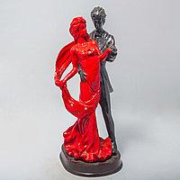"""Статуэтка """"Черно-красная пара"""" (19см)"""