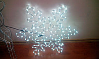 Снежинки световые