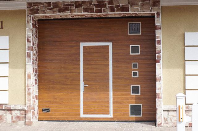Ворота любого дизайна и цвета -1