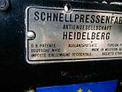 Тигельный пресс Heidelberg T с тиснением фольгой, б/у, фото 3