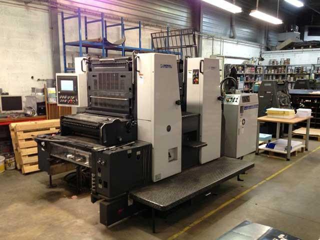 Shinohara 66IIP б/у 1999г - 2-красочное печатное оборудование