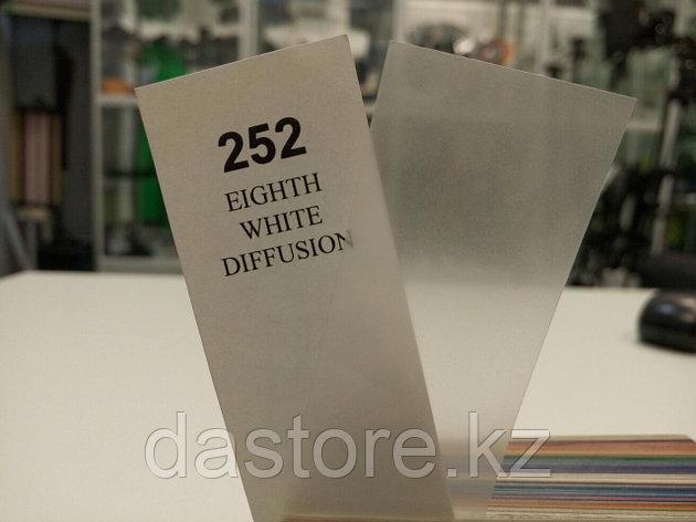 Cotech 252 EIGHTH WHITE DIFFUSION светофильтр для осветительных приборов, фото 2