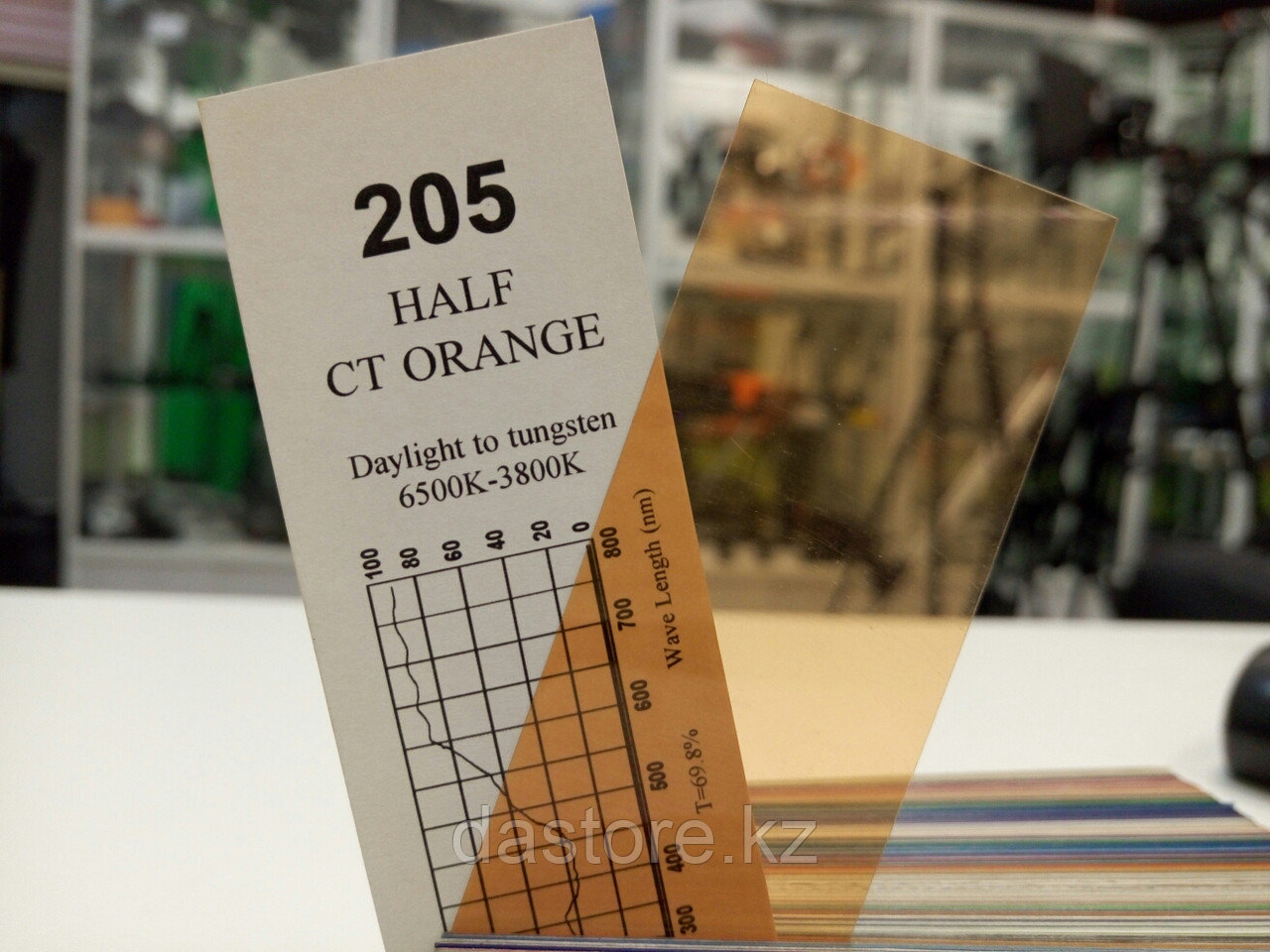 Cotech 205 HALF CT ORANGE светофильтр для осветительных приборов