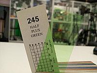 Cotech 245 HALF PLUS GREEN светофильтр для осветительных приборов, фото 1