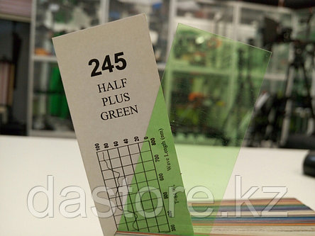 Cotech 245 HALF PLUS GREEN светофильтр для осветительных приборов, фото 2
