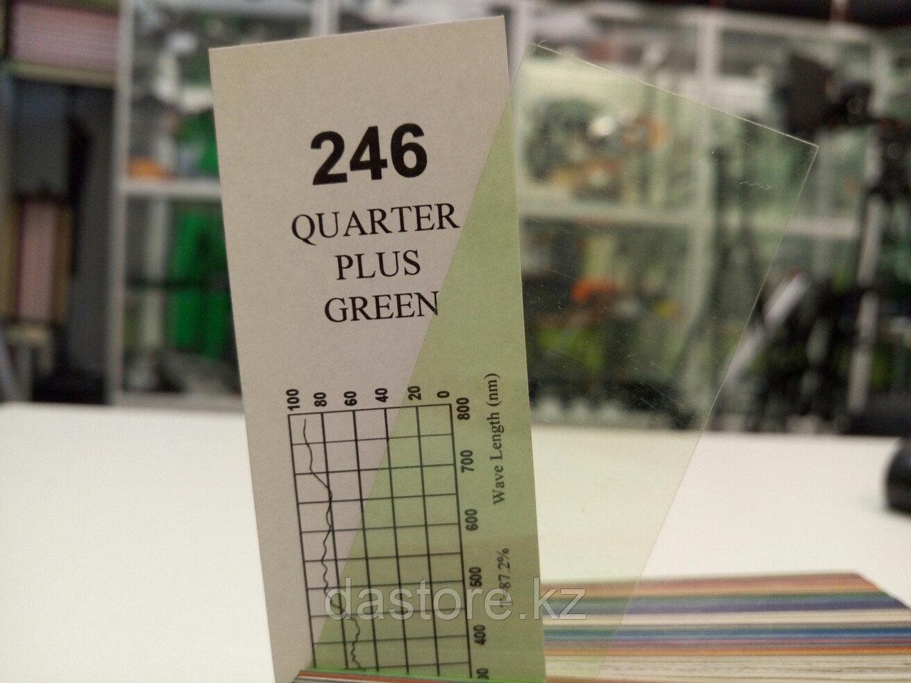 Cotech 246 QUARTER PLUS GREEN светофильтр для осветительных приборов