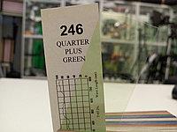 Cotech 246 QUARTER PLUS GREEN светофильтр для осветительных приборов, фото 1