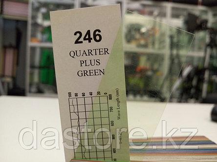 Cotech 246 QUARTER PLUS GREEN светофильтр для осветительных приборов, фото 2