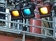 Cotech 249 QUARTER MINUS GREEN светофильтр для осветительных приборов, фото 3