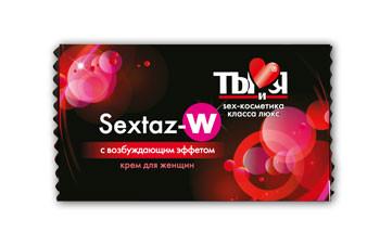 "КРЕМ ""Sextaz-W"" для женщин одноразовая упаковка 1,5 г."