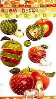 """Декоративные наклейки для кухни """"Яблочки"""" 5D, фото 1"""