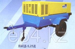 Компрессор дизельный ПКСД-5,25 на шаси двиг. Рикардо