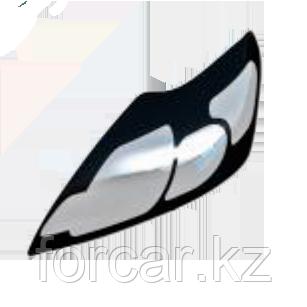 Защита передних фар прозрачная TOYOTA RAV-4 2010-, фото 2