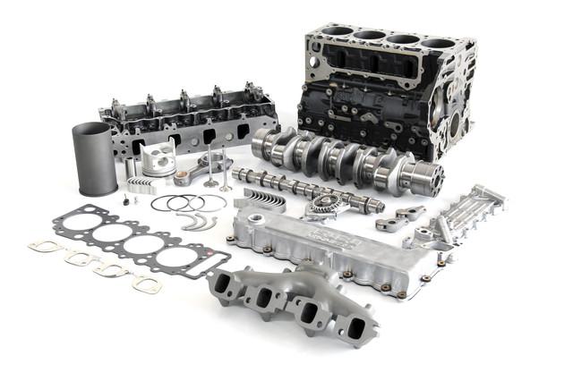 Двигатель 4P10