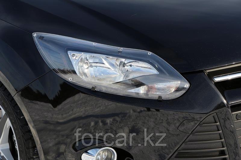Защита передних фар прозрачная TOYOTA RAV-4 2009-
