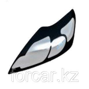 Защита передних фар прозрачная TOYOTA LAND CRUISER 100 2005-, фото 2
