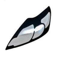 Защита передних фар прозрачная TOYOTA LAND CRUISER 100 2005-