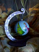Новогодний шар на штативе, фото 1