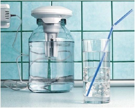 """С ионизатором """"Невотон-IS-112"""" Вы сможете пить полезную """"серебряную"""" воду каждый день!"""