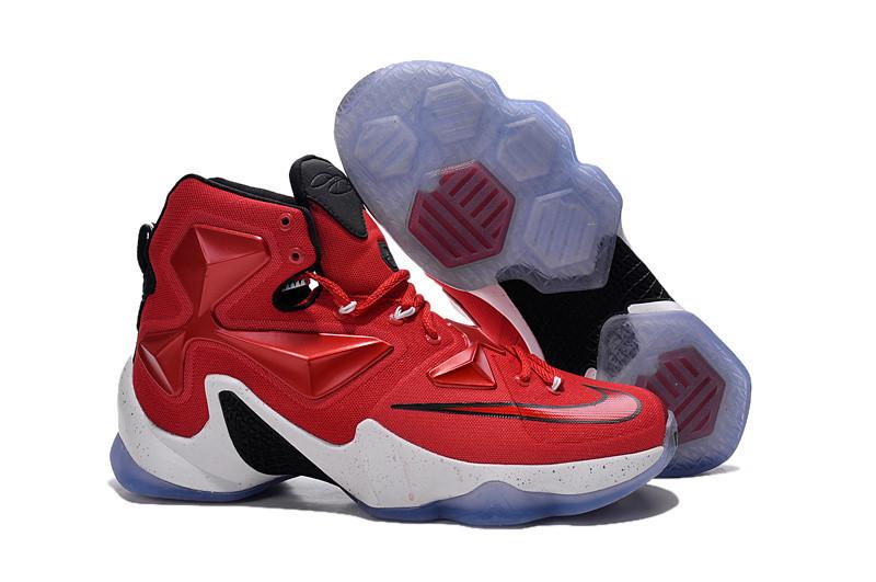 Кроссовки Nike LeBron XIII (13) Red White Black (36-47)