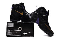 Кроссовки Nike LeBron XIII (13) Gold Purple Black (36-47), фото 6