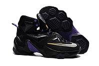 Кроссовки Nikе LeBron XIII (13) Gold Purple Black (36-47)