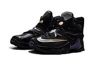 Кроссовки Nike LeBron XIII (13) Gold Purple Black (36-47), фото 3