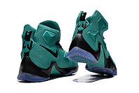 Кроссовки Nike LeBron XIII (13) Green Purple Black (36-47), фото 4