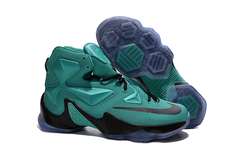 Кроссовки Nike LeBron XIII (13) Green Purple Black (36-47)