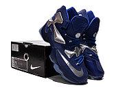 Кроссовки Nike LeBron XIII (13) Navy Blue Silver (36-47), фото 6