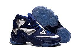 Кроссовки Nikе LeBron XIII (13) Navy Blue Silver (36-47)