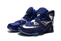Кроссовки Nike LeBron XIII (13) Navy Blue Silver (36-47), фото 2