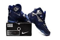 Кроссовки Nike LeBron XIII (13) Navy Blue Silver (36-47), фото 5