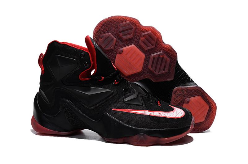 Кроссовки Nike LeBron XIII (13) Black Red White (36-47)