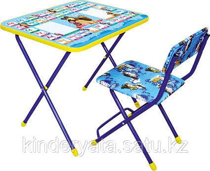 Комплект  стол с мягким стулом Ника  (для 3-7 лет)   г.Ижевск