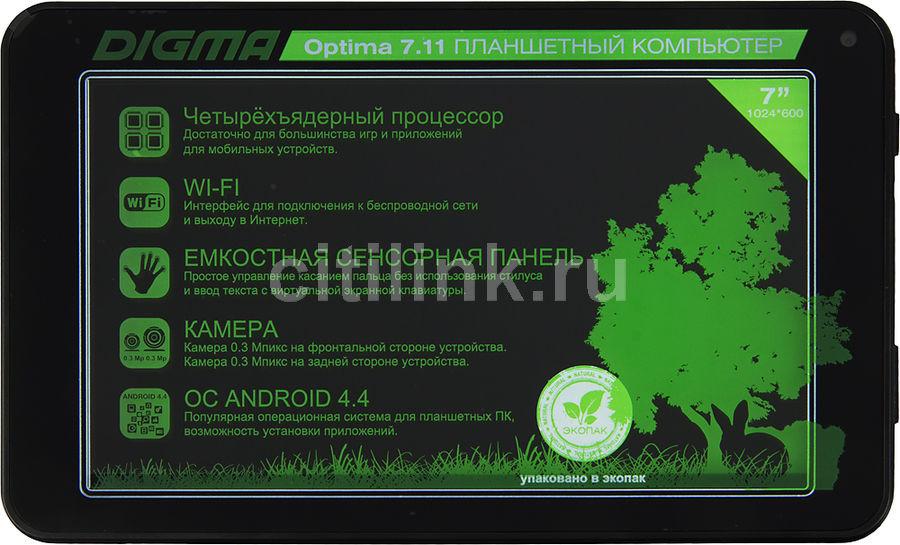 Планшетный компьютер DIGMA Optima7.11