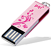 Флеш-память 8GB USB PQI i812 Pink