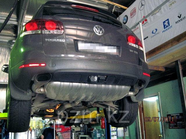 Замена масла в АКПП VW Touareg, Audi Q7, Porsche Cayenne (AISIN TR-60SN)
