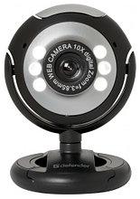 Defender 63110 Веб-камера C-110 0.3 МП, подсветка, кнопка фото