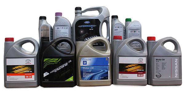 Автомасла и спец жидкости