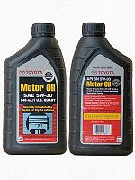 Toyota 5W30 (12/0.946) масло моторное 1l ( с заменой)