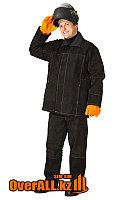 Спилковый огнеупорный костюм сварщика