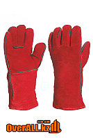 Сварочные спилковые перчатки, краги