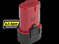Батарея аккумуляторная Li-Ion, ЗУБР Профессионал ЗАКБ-7.2 L15, для отвертки ЗО-7.2-Ли КН, 1.5А/ч, 7.2В, АКБ Samsung