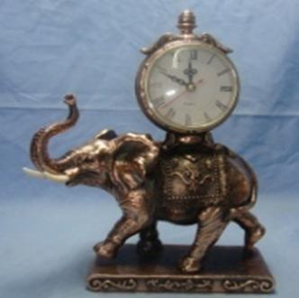 Статуэтка Слон с часами, фото 2
