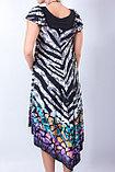 Яркое летнее платье свободного силуэта. 44 и 46 р., фото 4