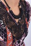 Wisell Оригинальное платье полуприлегающего силуэта. Размеры: 44, 46, фото 2